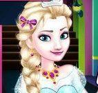 Roupas e maquiagem da Elsa na escola