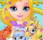 Barbie bebê cuidar dos animais