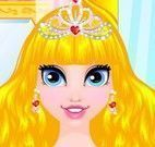 Princesa no cabeleireiro