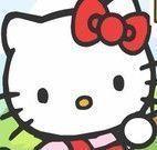 Hello Kitty caça bombons