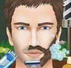 Homem fazer barba