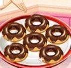 fazer donuts de chocolate