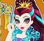 Raven Queen roupas de carnaval