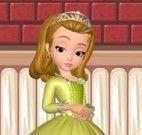 Princesa Sofia decorar festa da Páscoa