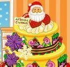 Decorar bolo para natal