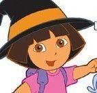 Pintar Dora bruxinha