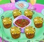 Fazer bolinhos de vegetais