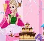 Limpar festa de aniversário da Elsa