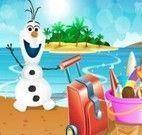 Olaf na praia