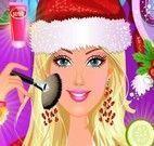 Maquiagem de Natal da Barbie