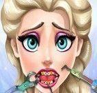 Elsa Frozen dentista