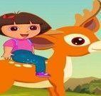 Aventuras de Dora saltar rio