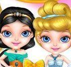 Bebê Barbie moda princesa Disney