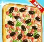 Fazer pizza de camarão