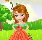 Princesa Sofia no banho