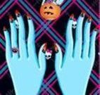 Manicure das monster high