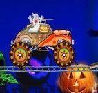 Aventuras de carro na noite de Halloween