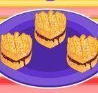 Fazer sanduíches com geleia de frutas vermelhas
