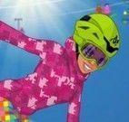 Roupas para esquiar na neve