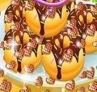 Donuts coberto de chocolate