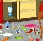 Fazer limpeza da cozinha