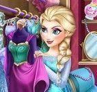 Elsa Frozen no closet