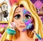 Spa da princesinha Rapunzel