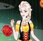 Roupas da Elsa no halloween
