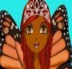 Vestir princesa mariposa