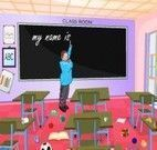 Limpar sala de aula