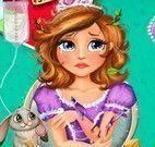 Princesa Sofia ferimentos