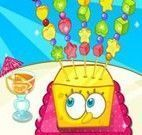 Decorar frutas do Bob Esponja