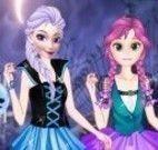 Fantasia Elsa e Anna halloween