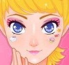 Maquiagem da Hello Kitty para menina
