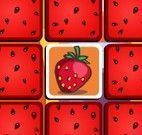 Frutas jogo da memória