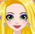 Rapunzel maquiagem de brilho