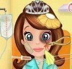 Princesa Sofia na ambulância