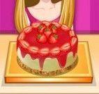 Receita de bolo de morango
