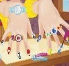 Pintar unhas da moça