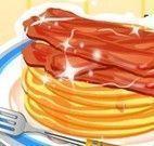 Receitas de panquecas de bacon