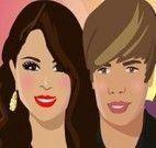 Selena Gomez e Justin Bieber beijo escondido