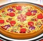 Preparar pizza de calabresa