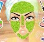 Tratamento de pele facial