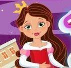 Arrumar quarto e vestir princesa