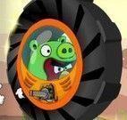 Angry Birds aventuras na roda
