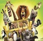 Quebra cabeça Madagascar 3