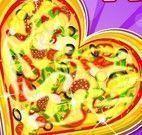 Fazer pizza do amor