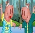 Vestir casal de hipopótamos