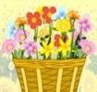 Decorar cesta de flores