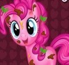 Pinkie Pie banho